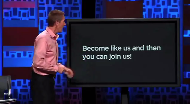 Bedside Baptist: Andy Stanley's Separation of Church and Hate