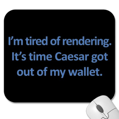 Taxes and Jesus: About Rendering Unto Ceasar…