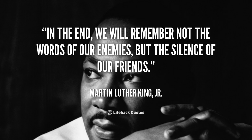 MLK's Quotes, My Philosophy